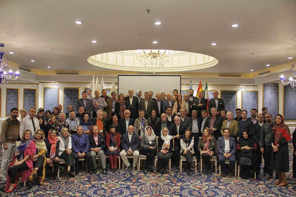 حضور خبرنگاران و نویسندگان گردشگری اسپانیا در ایران (2)