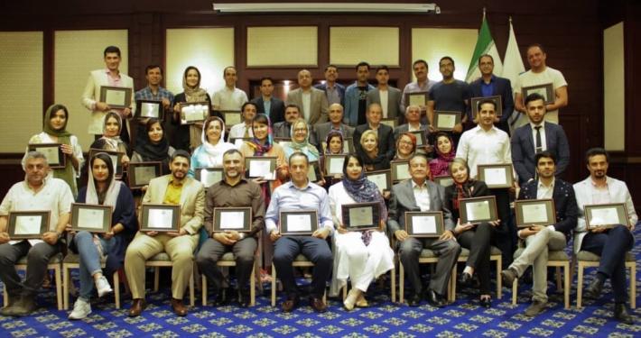 مراسم قدردانی ایران دوستان از راهنمایان گردشگری (1)