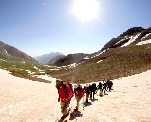 Trekking Dans Les Montagnes D' Alborz Et Zagros